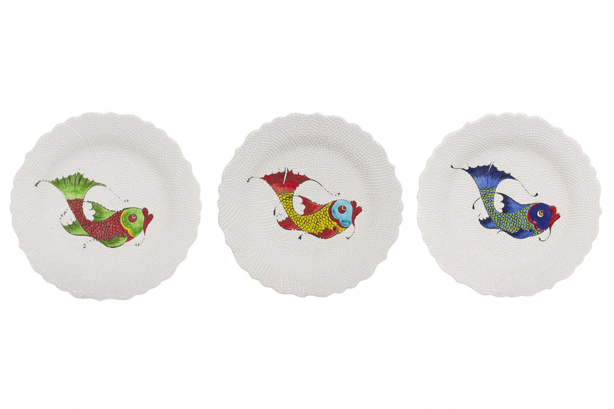 Tableware, Fish Plates | product photography | © Dar Leone