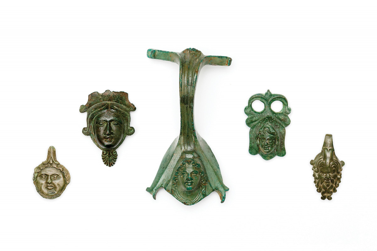 A selection of Roman bronzes from Sigmund Freud's collection | collection photography | © Freud Museum London