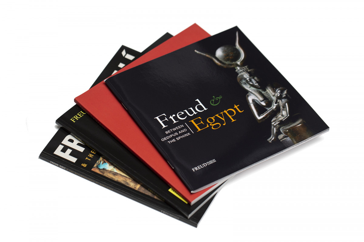 A selection of product photography created for the online shop & social media channels.Freud Museum Exhibition Catalogues. Exclusive to the freud Museum Shop