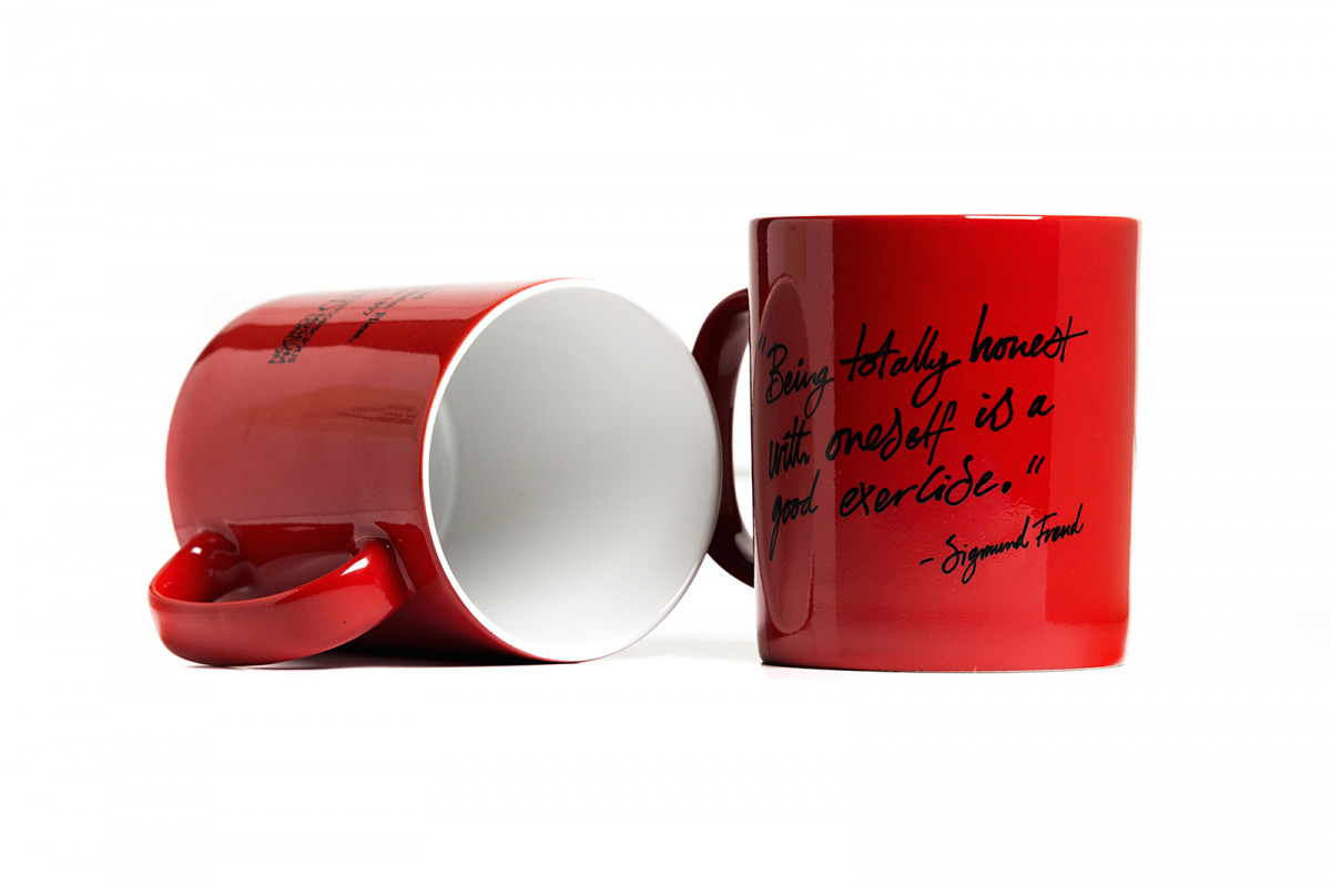 A selection of product photography created for the online shop & social media channels. Freud Quote Mug. Exclusive to the freud Museum Shop.