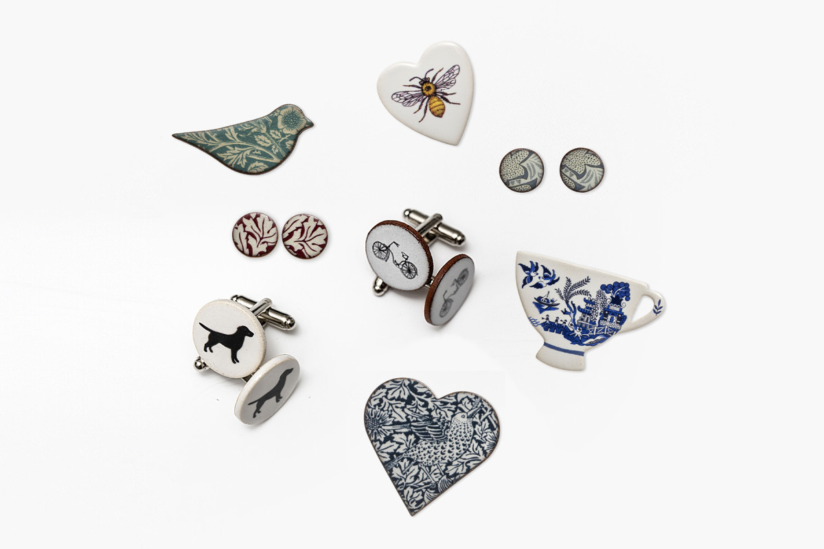 Token Collection-themed jewellery | online shop photography | © The Foundling Museum, London
