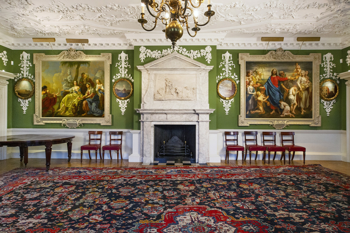 Court Room | museum photography | © The Foundling Museum